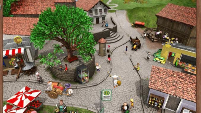 My Free Farm Stadt Übersicht bild