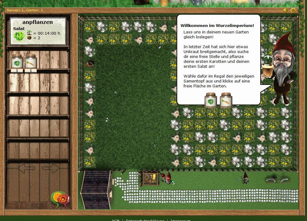 Wurzelimperium Pflanzen